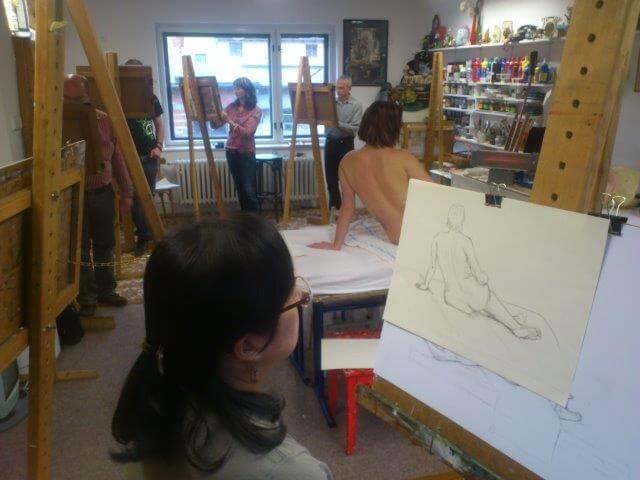 Kurz Kresby Postavy A Aktu Atelier Viridian